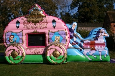 Princess Carriage  Bouncy Castles To Hire In Surrey  Berkshire  Best Bounce Bouncy Castle