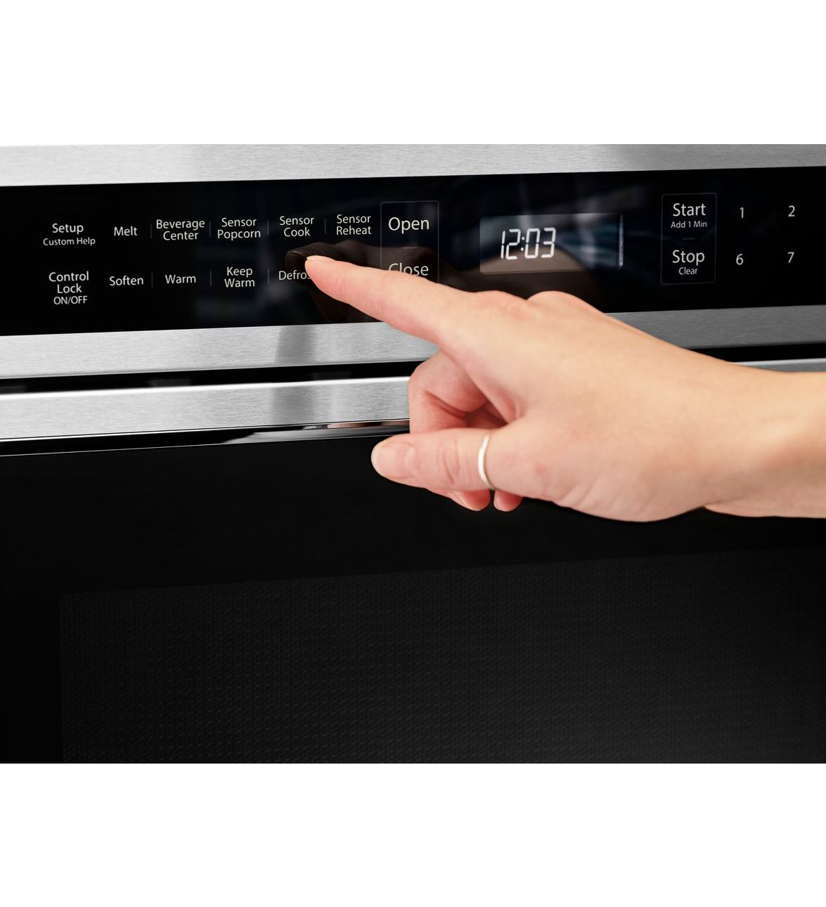 under counter microwave oven drawer