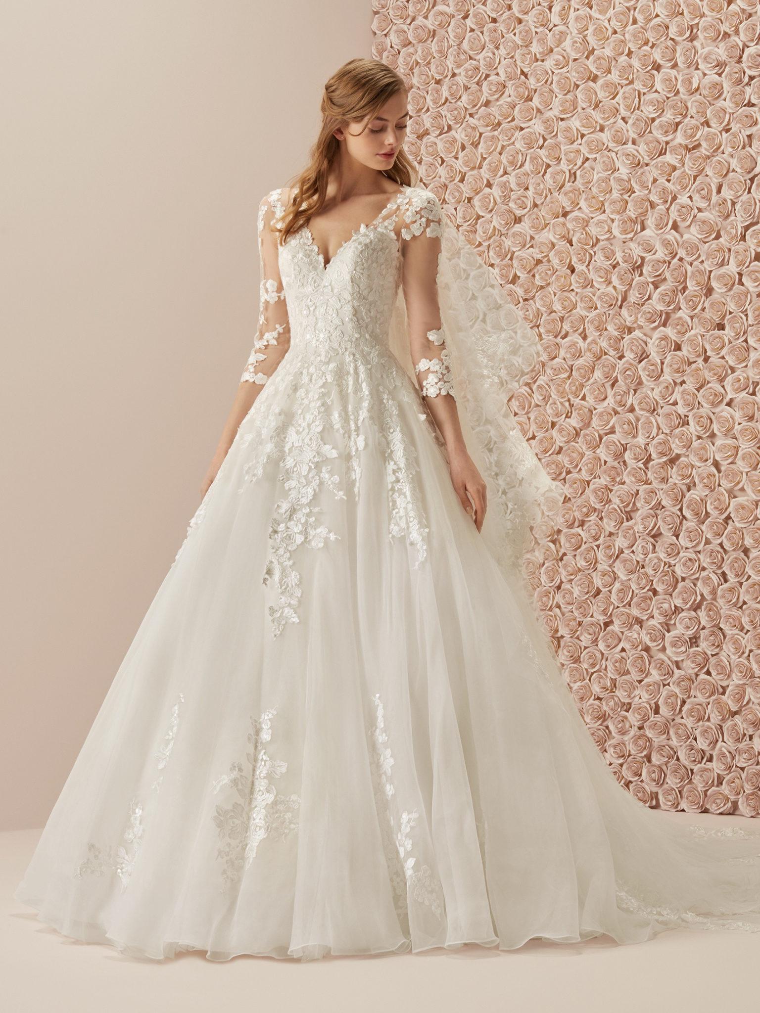 Medas By Pronovias Wedding Dress On Sale At Precious Memories Bridal