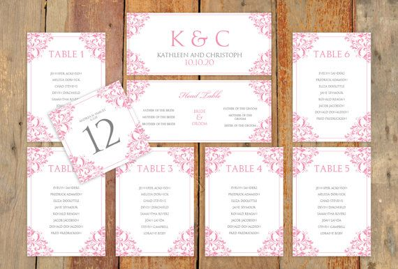 Wedding Seating Chart Free Wedding Invitation Sample – Guest Seating Chart Template