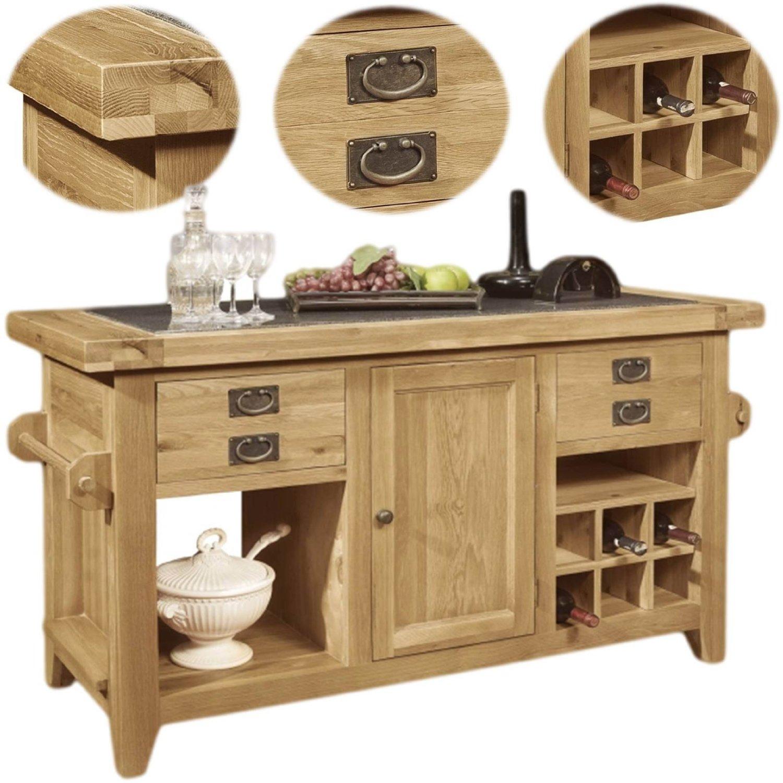 kitchen island butcher block visualization tool freestanding islands bestbutchersblock com panama solid rustic oak unit