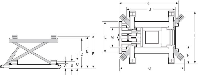 Norco 86002A 6000 Lb. Capacity 48