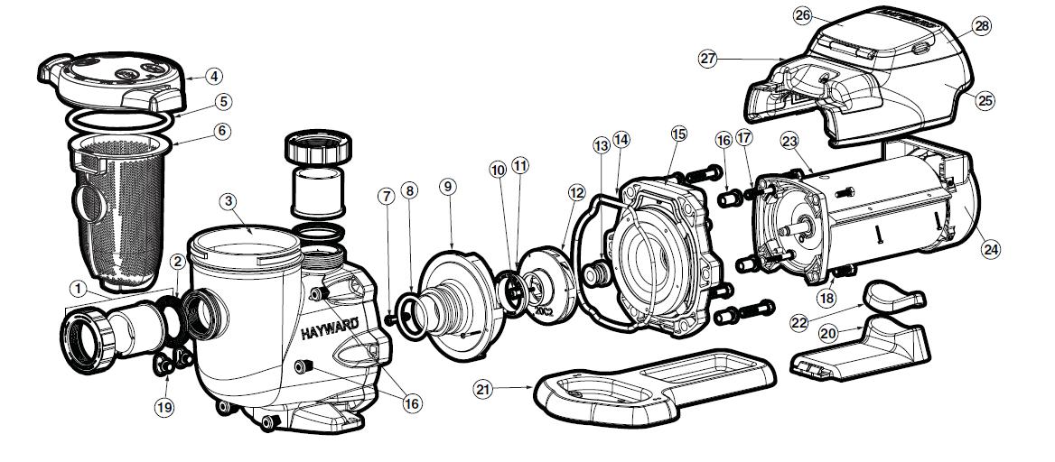 Centurion Pool Pump Diagram, Centurion, Free Engine Image