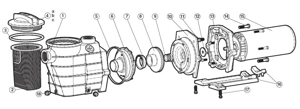 Hayward Super Pump Schematic, Hayward, Get Free Image