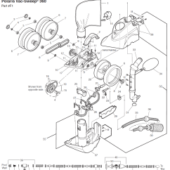 Polaris Pool Cleaner Parts Diagram Wiring Light Switch 360 Replacement