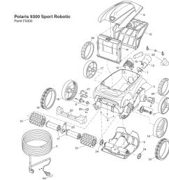 polari 9350 sport electrical schematic [ 1061 x 1065 Pixel ]
