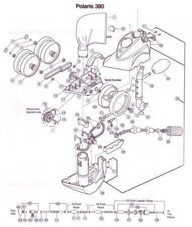 Polaris 360/380 Black Tune Up Kit (91009015)