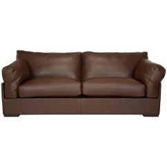 Grand Sofa Leather Sofas Orange County John Lewis Java Nature Brown Review