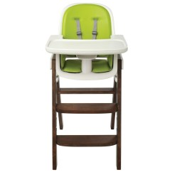 Oxo High Chair Bedroom Folding Tot Sprout Highchair Green Walnut By John Lewis