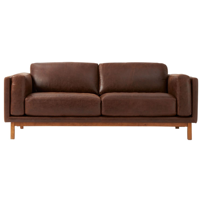west elm leather sofa reviews flair air mattress dekalb aniline molasses review