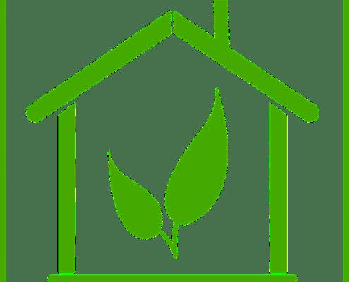 Duurzaam huis logo
