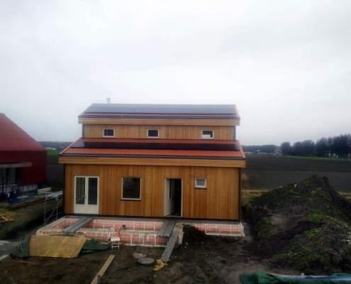 Huis onderconstructie