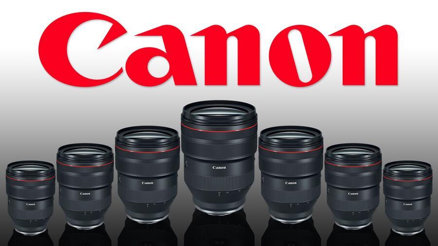 Roadmap di Canon per gli obiettivi RF per il 2021 e il 2022