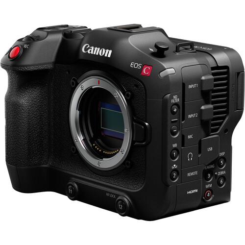 Aggiornamento delle voci sulle fotocamere Canon XC20, C50, XF505 e 8K