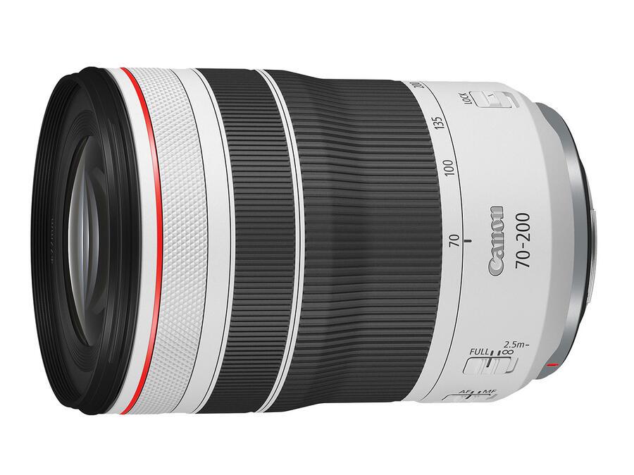 Obiettivo Canon RF 70-200mm f / 4L IS USM in magazzino e spedizione