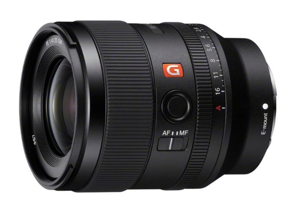Obiettivo Sony FE 35mm f / 1.4 GM ora disponibile su AmazonUS