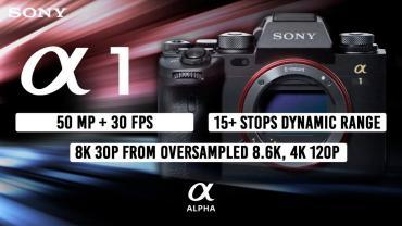 Sony a1: confronto con Sony a9 II, Canon EOS R5, EOS-1D X Mark III!