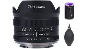 Obiettivo fisheye 7artisans 7,5 mm F2,8 Mark II per Sony E, Fuji X, MFT, Canon M e Nikon Z