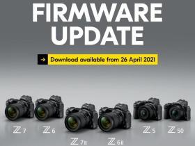 Nuovi aggiornamenti firmware rilasciati per Nikon Z7 II, Z6 II, Z7, Z6, Z5 e Z50