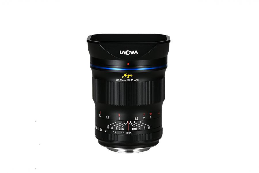 Obiettivo Laowa Argus 33mm f / 0.95 CF APO ora disponibile per il preordine