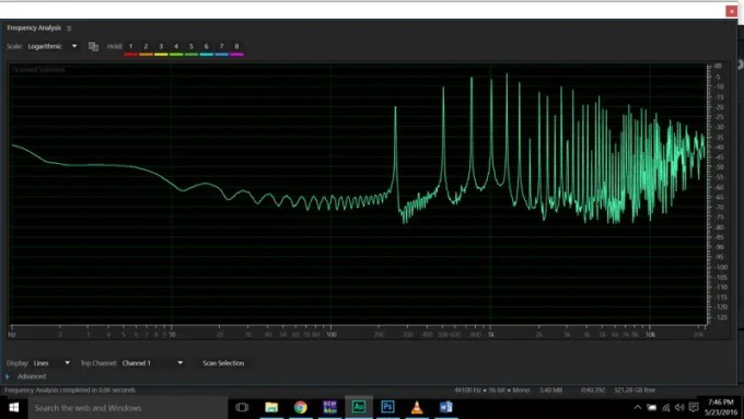 Audio Distortion