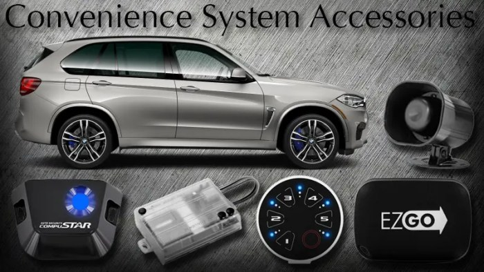 Convenience System Accessories