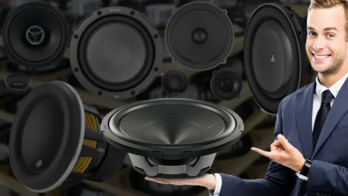 Speakers Different Sizes