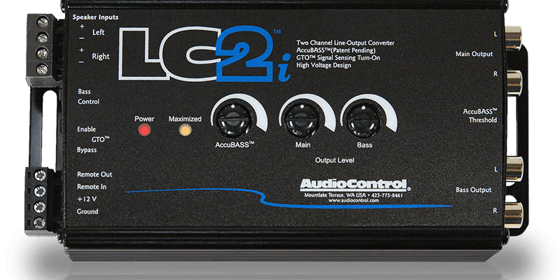 Product Spotlight: AudioControl LC2i