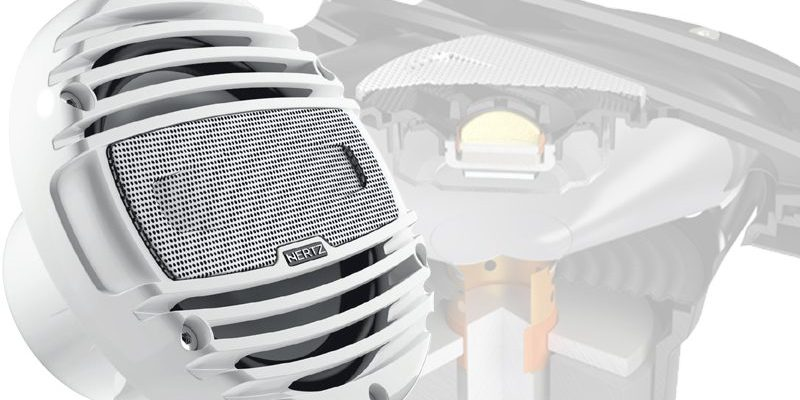 Product Spotlight: Hertz HMX 6.5 Marine Speakers