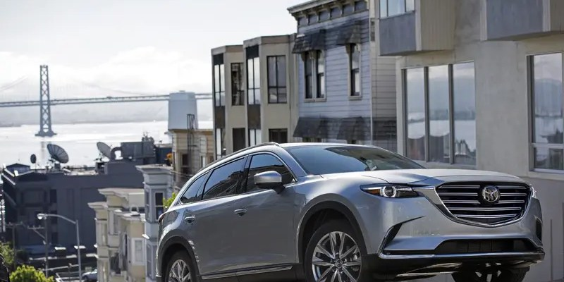2018 Mazda CX-9. The Three-Row Crossover with Zoom-Zoom!