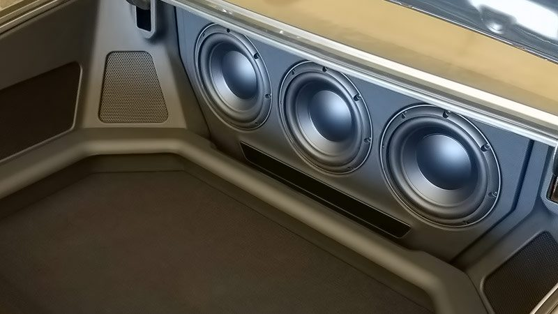 Car Audio Subwoofer Enclosures