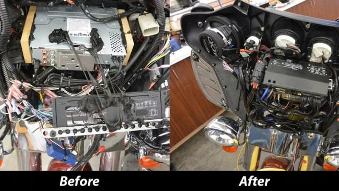Milburn Wiring Before and After-1