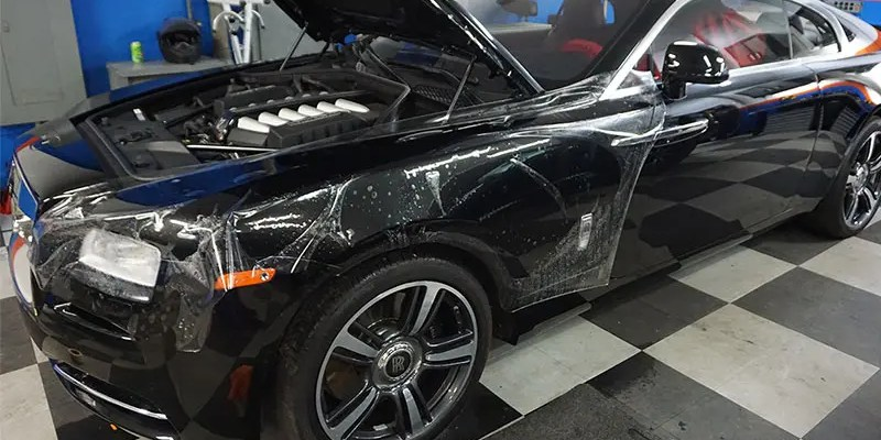 The Benefits of Paint Protection Film For Your Vehicle