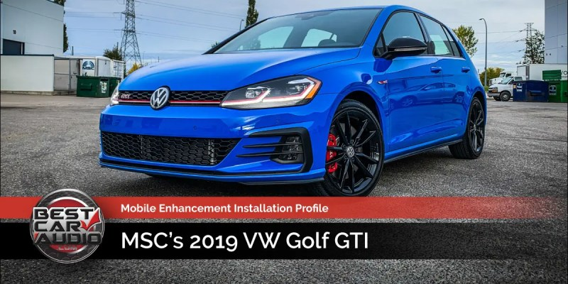 Industry Profile: MSC's 2019 VW Golf GTI