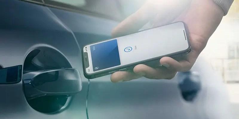Apple and BMW Introduce CarKey