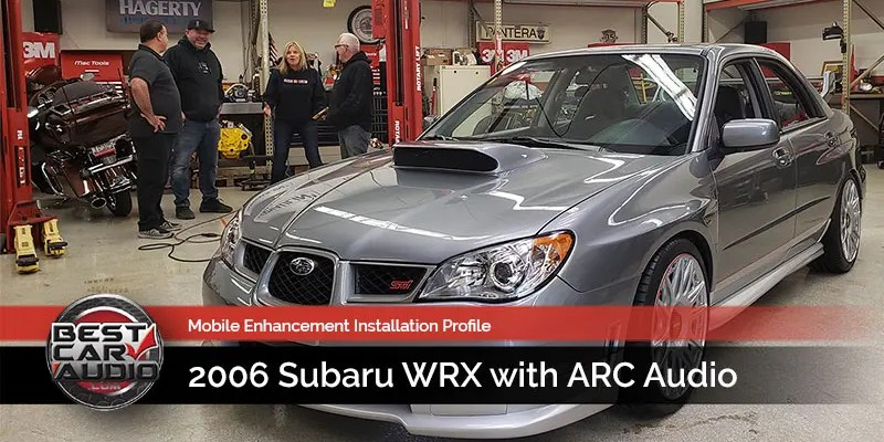 Mobile Enhancement Industry Profile: 2006 Subaru WRX