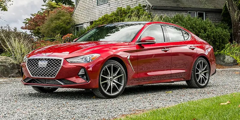 2020 Genesis G70. Bargain Luxury