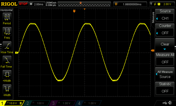 Amplifier Voltage