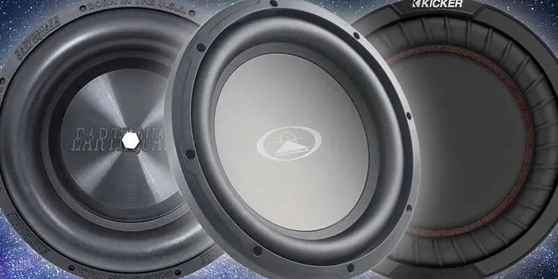 Let's Look at Car Audio Subwoofer Passive Radiator Designs