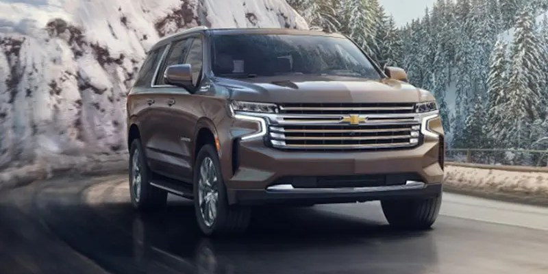 2021 Chevy Suburban High Country. Livin' Large!