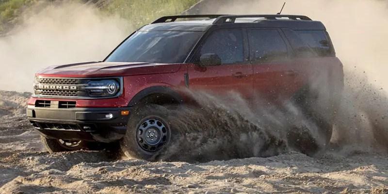 2021 Ford Bronco Sport Badlands. Outdoor Fun.