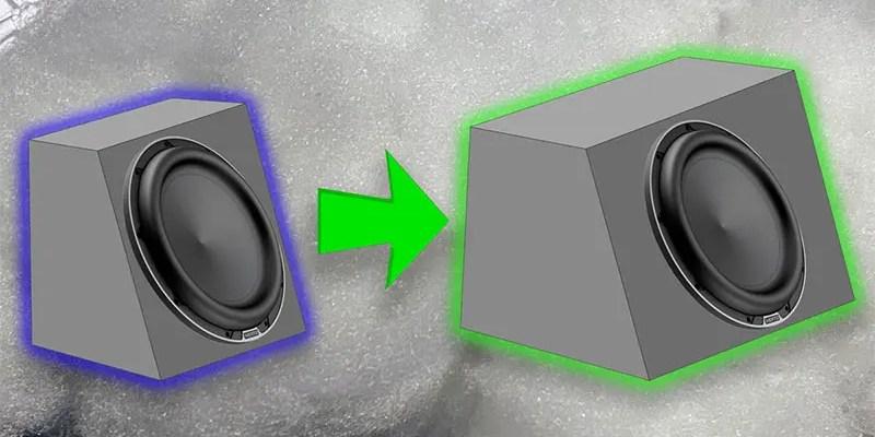 Car Audio Myths: Does Stuffing a Subwoofer Enclosure Make It Seem Larger?