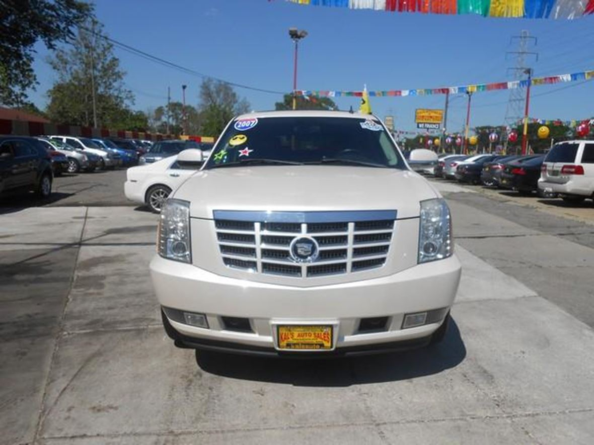 hight resolution of 2007 cadillac escalade for sale by owner in detroit