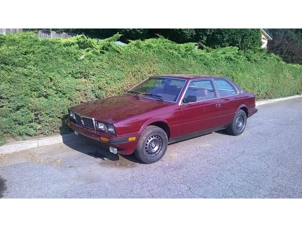 medium resolution of 1985 maserati biturbo for sale by owner in spokane