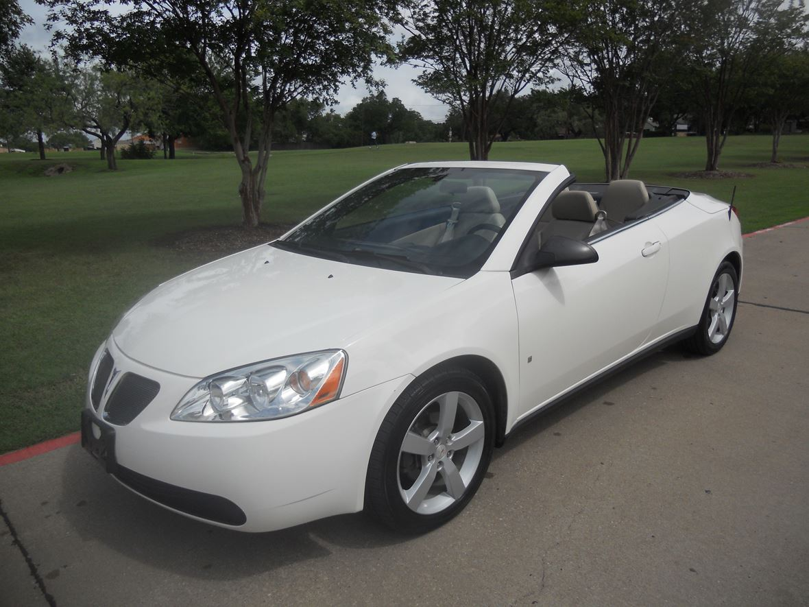 hight resolution of 2007 pontiac g6 gt convertible for sale by owner in haltom city