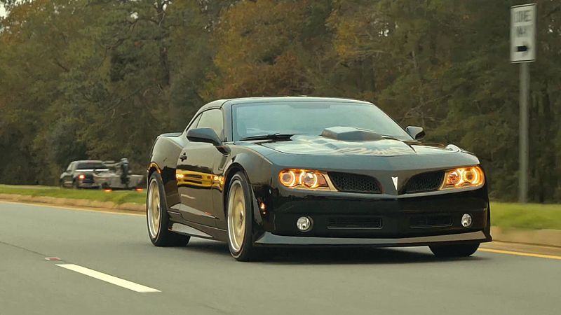 New Trans Am SE Bandit Edition Signed By Burt Reynolds