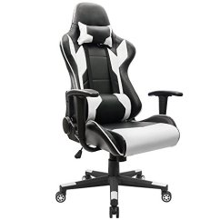 Chairs 4 Gaming Bar Chair Covers Best Rated Under 150 In 2018 2019 For Features Include An Ergonomic Body Hugged High Back With A Removable Headrests Pillow And Lumbar Cushion There Is Recline Function