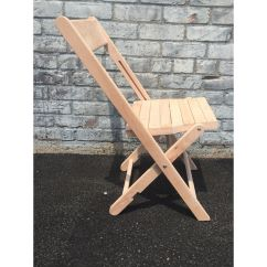 Wooden Folding Chairs For Sale Chair Slipcovers Target Wood With Slatted Seat A 102 Raw Our Natural Is On Now