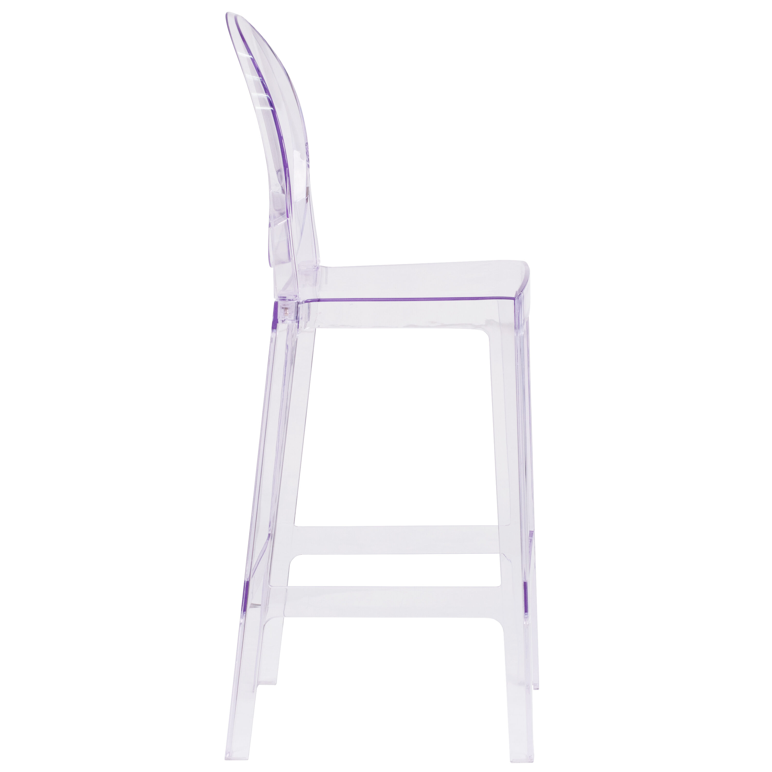 ghost chair bar stool bottom pads oval back barstool ow ghostback 29 gg bestchiavarichairs com our with in transparent crystal is on sale now
