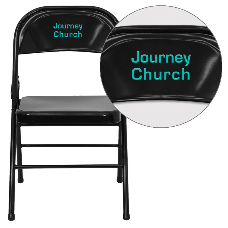double seat folding chair target high vyl black metal hf3 mc 309as bk emb gg images